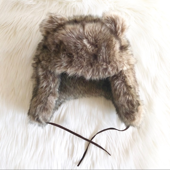 ddfdfe4a8e6 Faux fur Bear Hat. M 5c3923eb03087c0f2a06f137